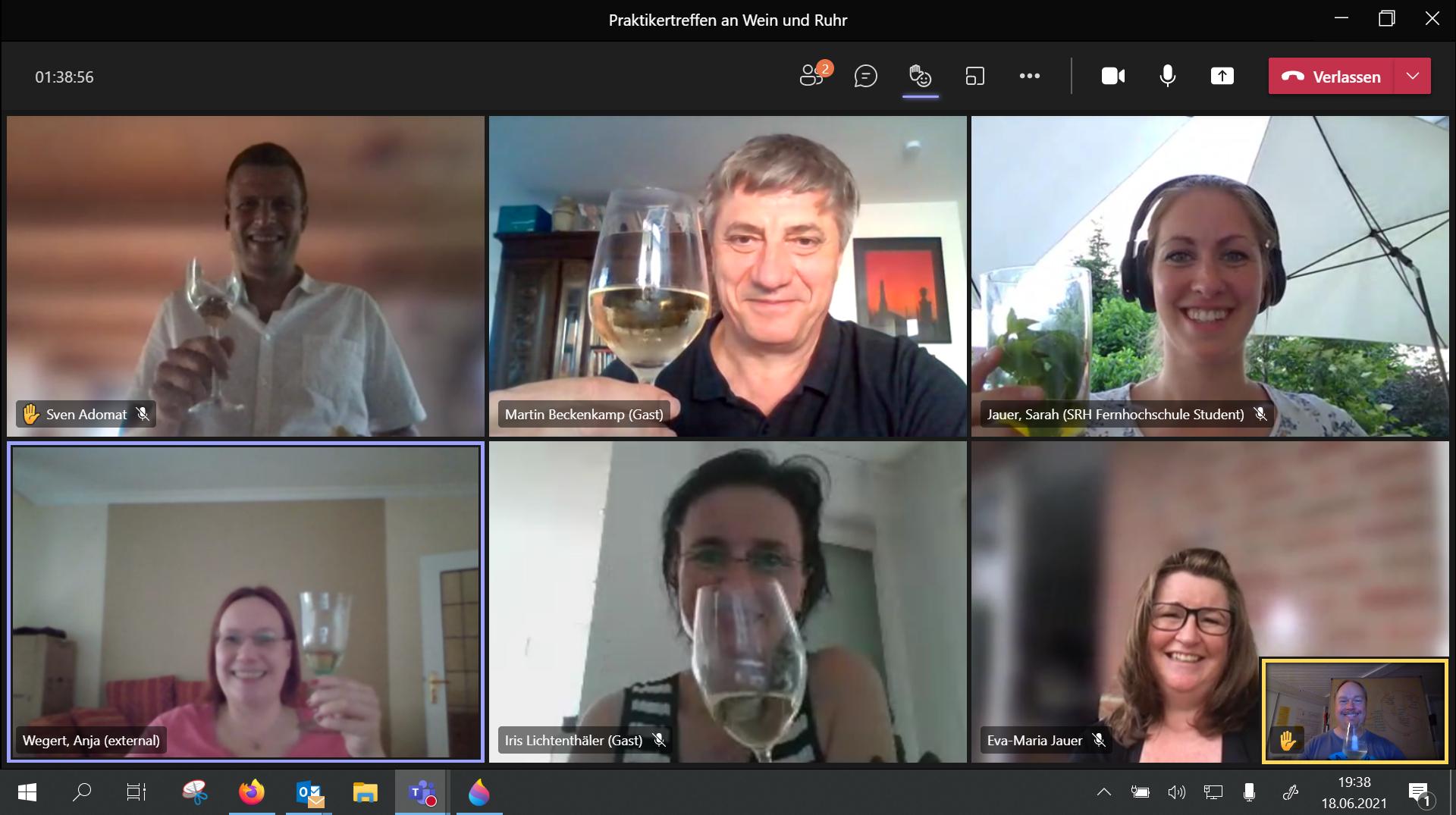 Praktikertreffen der GWPs an Wein und Ruhr